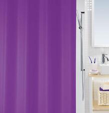 Bio Violet Lila Eco Duschvorhang 180 x 200 cm. 100% PEVA Swiss Design PVC Frei !