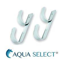 Aqua Select Swimming Pool & Spa Aluminum Accessory Hanger - 2 Hooks