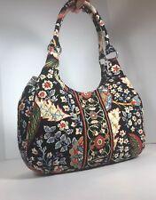 VERA BRADLEY Extra Large Hobo Tote Versailles Shoulder Bag Retired Handbag