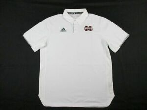 Mississippi State Bulldogs adidas Polo Shirt Men's New Multiple Sizes
