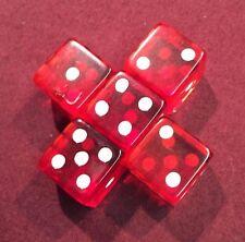 5 Red 19mm Premium Dice