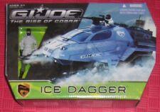 GI JOE THE RISE OF COBRA ICE DAGGER WITH FROSTBITE ACTION FIGURE NIB NR