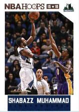 2015-16 Panini NBA Hoops #178 Shabazz Muhammad Minnesota Timberwolves NM Single