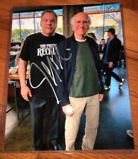 Jeff Garlin CURB YOUR ENTHUSIASM w Larry David 8x10 Photo Hand Signed Auto