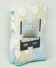Martha Stewart Collection Pergola Patchwork Pillow Sham - STANDARD - Multicolor