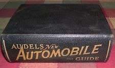 Audel's New Automobile Guide for Mechanics Operators and Servicemen 1938 Graham