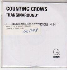 (BQ875) Counting Crows, Hanginaround - 1999 DJ CD