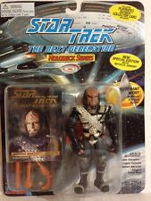 LIEUTENANT WORF IN RITUAL KLINGON ATTIRE STAR TREK NEXT GENERATION PLAYMATES