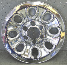 """CHEVY SILVERADO TRUCK / VAN / TAHOE / AVALANCHE 17"""" CHROME LINER HUBCAP COVER"""