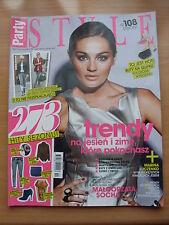 PARTY Style 2/2012 M.SOCHA,Lana Del Rey,Lady Gaga,Anja Rubik,Johnny Depp