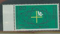 BRD Briefmarken 1968 Katholikentag Essen Mi.Nr.568** postfrisch mit Rand