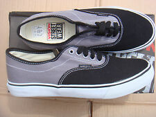 SKATEBOARD GREY/BLACK VISION STREET WEAR CANVAS trainers UK size 9