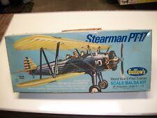 Guillow's Stearman PT-17 Model Kit World War 2 Pilot Trainer balsa kit 803
