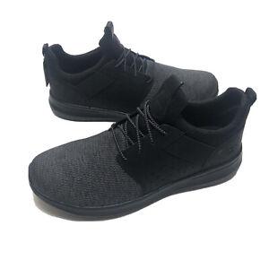 Skechers Delson Camben 65474W Walking Shoes Mens Size 13W Black NEW Sneakers