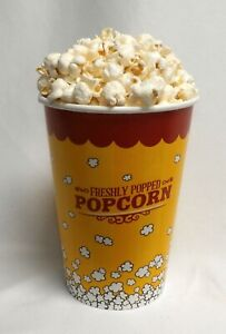 FAKE FOOD DRIVE IN CONCESSIONS LARGE TUB OF POPCORN