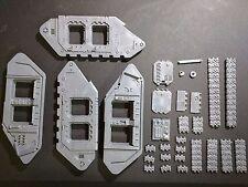 Warhammer 40k Space Marines Land Raider Sides / Tracks Bits