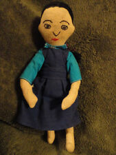 Muslin Doll Girl Vintage Antique 8-1/2 in Tall