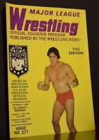 Major League Wrestling Official Souvenir Program 1982 Issue No 277