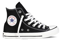 Converse All Star Hi Tops Unisex High Tops Chuck Taylor Trainers Black
