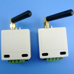 2PCS 433M RS485 Wireless Transceiver Module DTU UART RS232 485 422 RF Smart Home