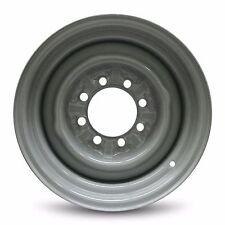 New 16x7 Inch 4 Slot 8 Lug (92-97) Ford F250 (92-97) F350 Steel Gray Wheel Rim