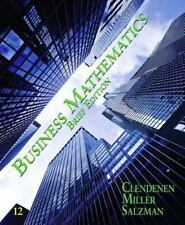 Business Mathematics, Brief by Gary Clenenden, 12th Edition BRAND NEW