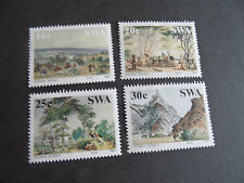 SOUTH WEST AFRICA 1987 SG 471-474 PAINTINGS MNH