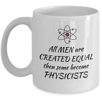 Science Physics teacher student professor coffee mug - scientist physicists gift