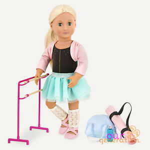 OUR GENERATION DANCING FEET BALLET Accessory Set for 18inch Dolls AMERICAN GIRL