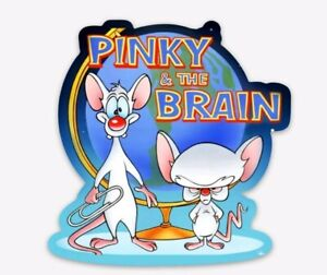 MAGNET Pinky and the Brain Anamaniacs - Classic Cartoon fridge or car magnet