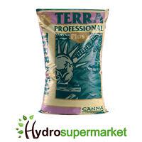 BOXED - CANNA TERRA PROFESSIONAL PLUS SOIL MIX 50L HIGH GRADE QUALITY MEDIA
