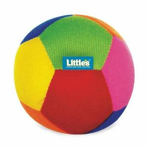 Little's Soft Baby Ball With Rattle Sound Machine Washable For Age 6 Months & Up