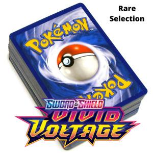 Pokemon SWSH Vivid Voltage Rare Selection
