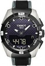 T0914204605101 Tissot T-Touch Expert Titanium Mens Watch Quartz 43mm Leather