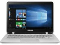 ASUS 13.3in Touch Screen LAPTOP 3.1Ghz 8GB 1TB Backlit Webcam Win 10 Silver