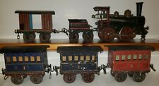 Rare Early Marklin 1 Gauge Vintage Train Set