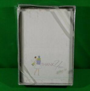 "Hortense B. Hewitt Bridal Gifts Thank You Cards #71406 W/ Envelopes 4.75""x 3.5"""