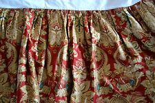 RALPH LAUREN HOME JARDINIERE RUFFLED QUEEN BEDSKIRT ~ EUC