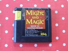 Might and Magic Gates to Another World Sega Mega Drive uniquement Module