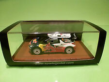 SPARK 1:43 CITROEN DS3 ITALIA SARDEGNA 2011 - ORIGINAL BOX - IN MINT CONDITION