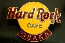 HRC Hard Rock Cafe Osaka Logo 3LC HRC back