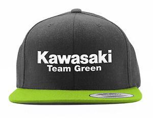 Factory Effex Kawasaki Team Green 2 Snapback Hat Cap Motorcycle Dirt Bike