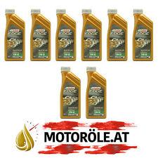 8x1 Liter Castrol Supercar 10W-60 Titanium FST Motoröl ACEA A3/B4, BMW M-Models