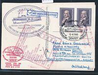 "81741) LH FF Frankfurt - Quito Ecuador 30.10.95, Karte SP ""DRESDEN"" Aufg Hamburg"