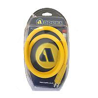 Apeks - Double Swivel Flex Hose - Doppel Swivel Flex Schlauch - 90cm - Yellow