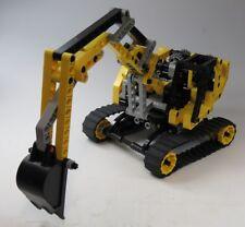 Lego Technic Veicolo Escavatore a Cucchiaio Scavatrice Pala Collane Giallo