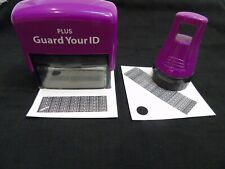 Guard Your Id Plus Two Piece Set – Roller and Stamp
