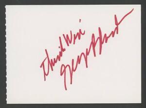 GEORGE BLANDA signed 4x5 album page (AUTOGRAPH - RAIDERS)