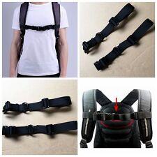 Chest Harness Adjustable Bag Backpack Webbing Sternum Buckle Clip Strap Nylon