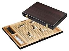 36,5 x 23 x 5 cm Go and Gobang Linde Holz Kassette Brett mit Spielsteine Bang